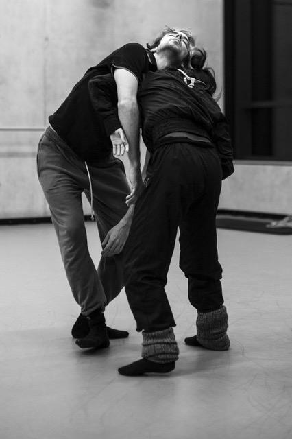 Photos for se4sons, making of, Dancer: Sachika Matsuo, Boris Randzio, photographed by Sofia Zwokbenkel ( https://www.sofia-zwokbenkel.de/)